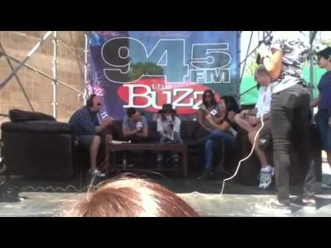 Cage the elephant interview at buzzfest 28