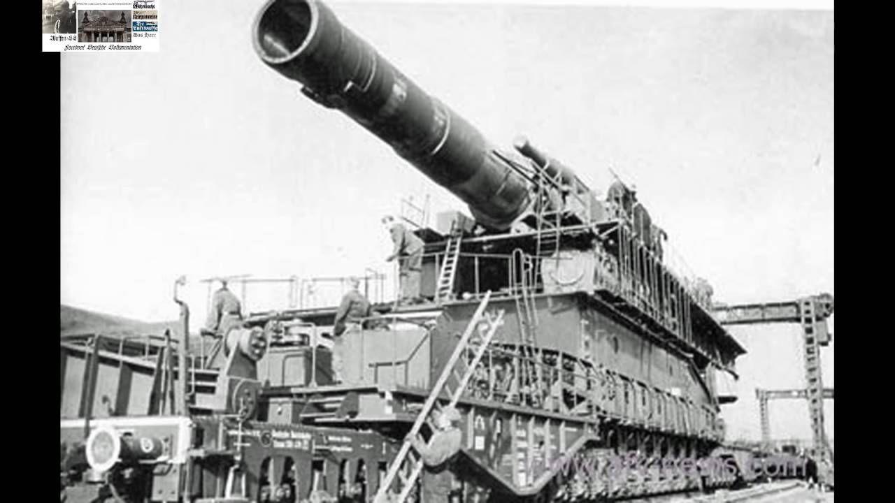 800mm gun Schwerer Gustav DORA Sewastopol 1942   World ...