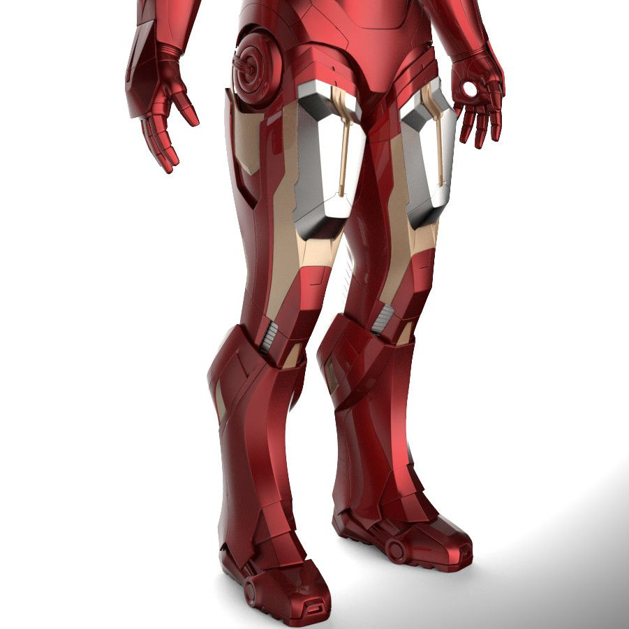 3d printable suit mark vii armor model mk 7 from iron man