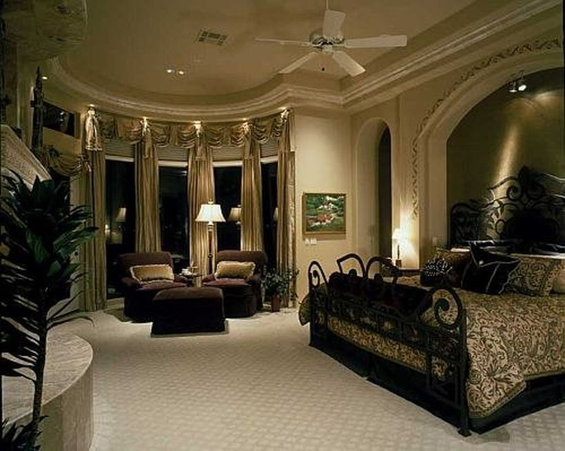 Room · 90 Gorgeous Romantic Master Bedroom Design ...