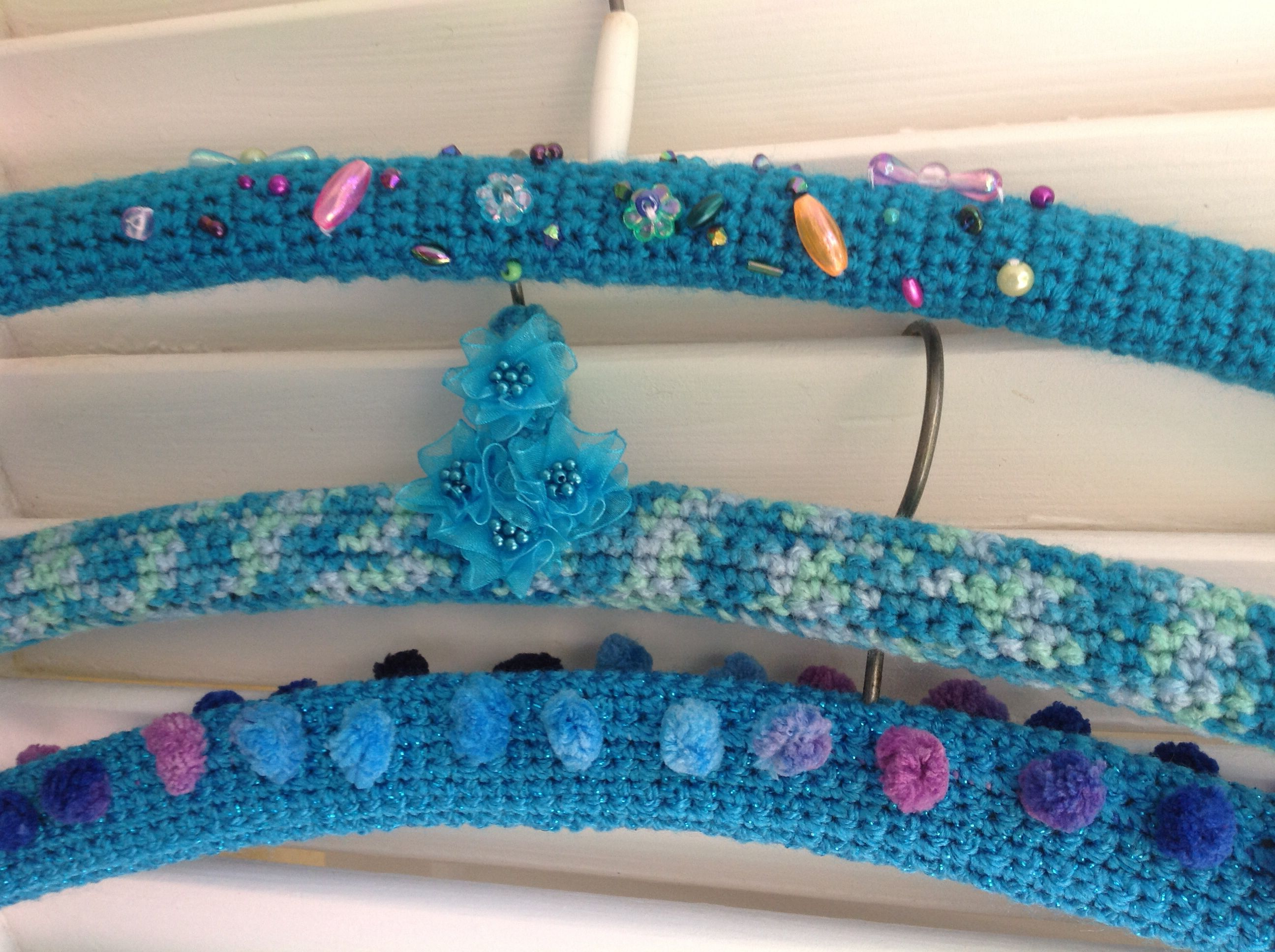 Made By Clinton Hangers Croche