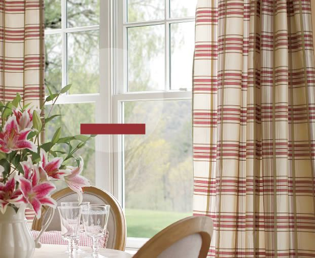 Country Curtains Catalog Quot Greenwich Plaid Quot Panels