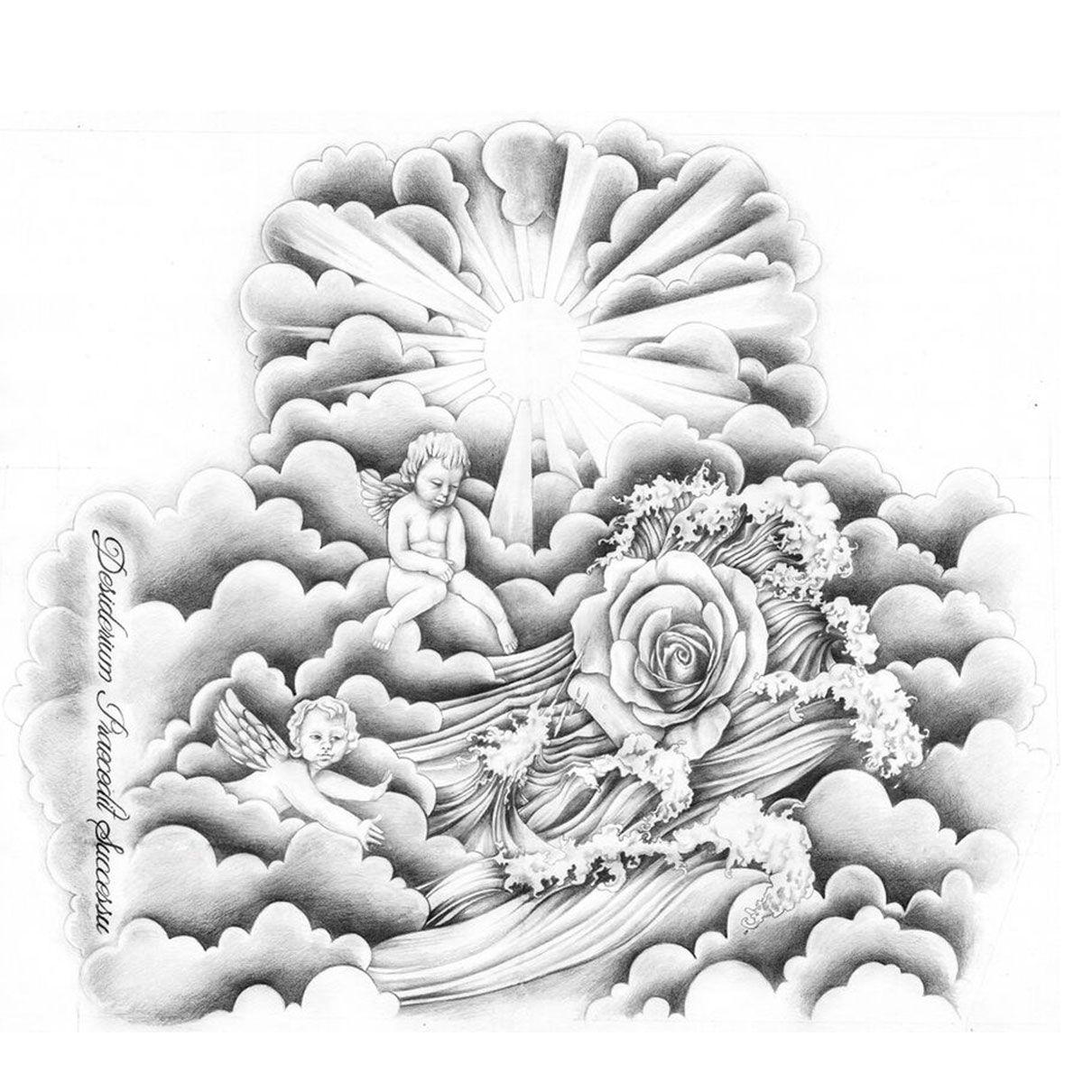 Columbus Custom Tattoo Designs: Custom Tattoo, Cloud Tattoo