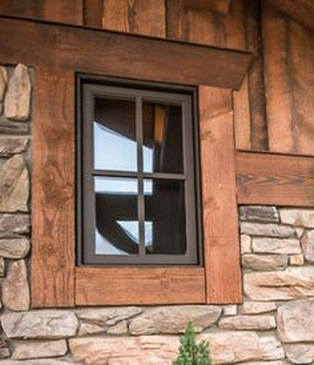 Cool 105+ Modern Rustic Window Trim Ideas Https