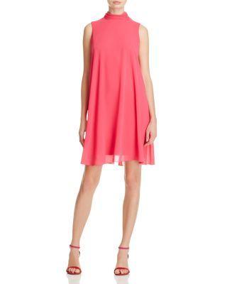 5ffbd933b40e Eliza J Mock Neck Shift Dress | Bloomingdale's | Dresses | Dresses ...