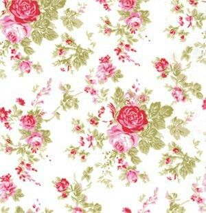 Vintage Pink Rose Contact Paper