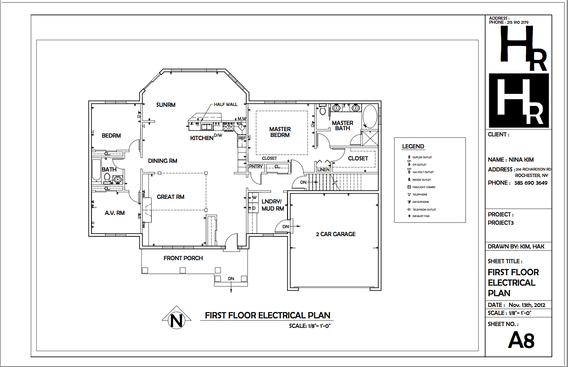 medium resolution of first floor electrical plan