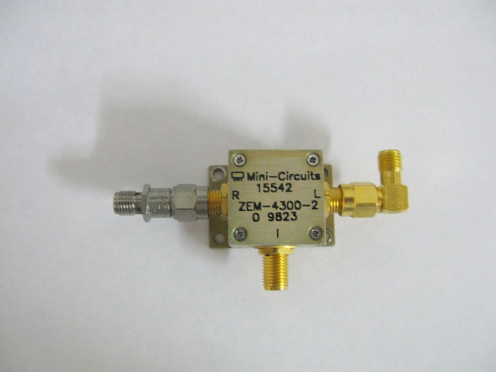 Mini-Circuits ZEM-4300-2 Coaxial Frequency Mixer 300-4300