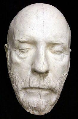 death mask Robert E. Lee