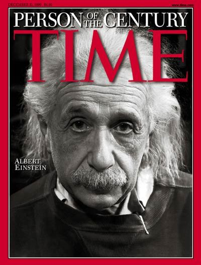 Albert Einstein - It doesn't get any better than being named the world's most impactful person of an entire century,