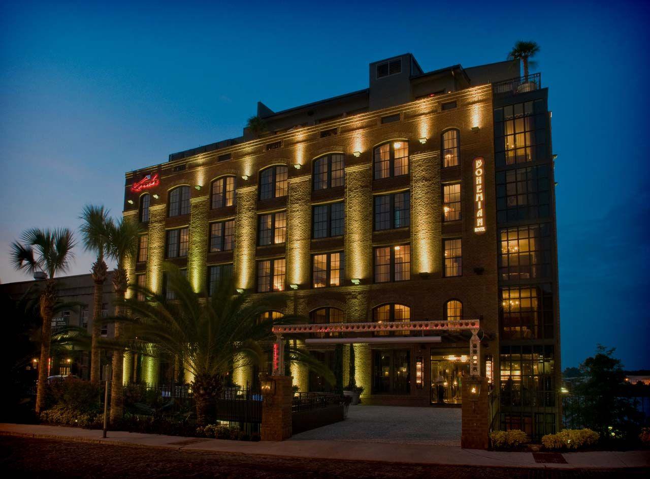 Best Hotel In Savannah Ga Bohemian Hotel Savannah Riverfront