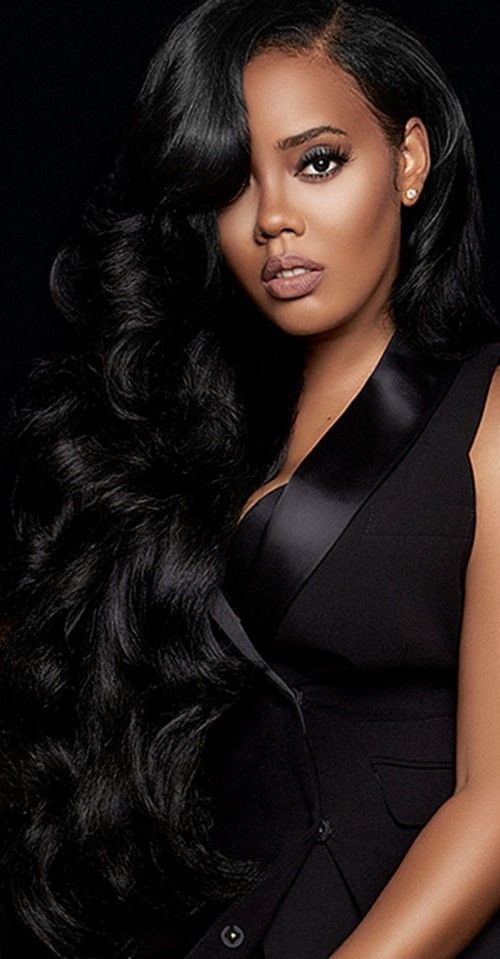 Angela Simmons Angela Simmons Hairstyle Long Hair Styles
