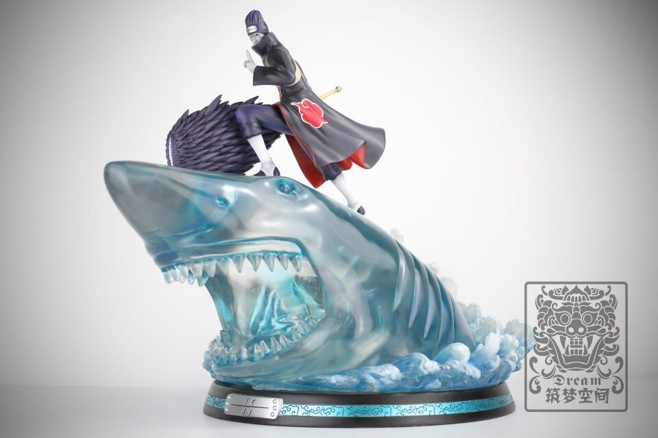 Naruto Uchiha Obito Statue Led Light Model Eight tail In Stock Painted 1//7 GK