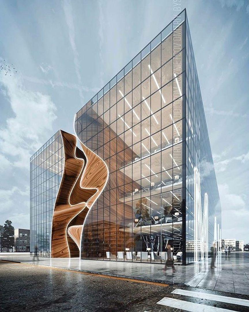 "Architecture and Interiors on Instagram: ""✨Yukon Shopping Mall by BYSstudio - Dmitriy Kuznietsov.✨ ✨ #architecture #architectureinteriors #building #architexture #city #buildings…"""