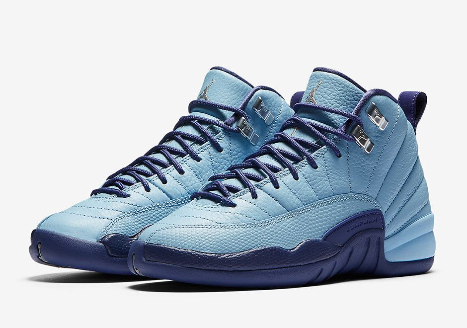 more photos 1f530 6bde5 ... An Official Look At The Air Jordan 12 GS Dark Purple Dust That Releases  Next Week air jordan retro 12 womens silver sky blue ...