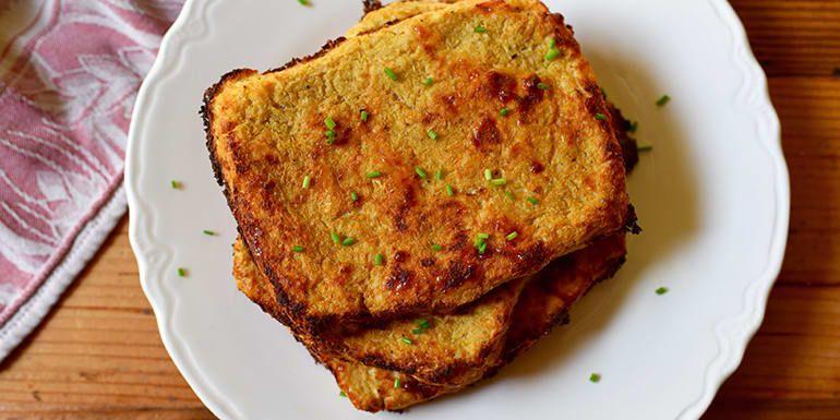 Cauliflower Bread Recipe Healthy Ish Food Cauliflower Bread