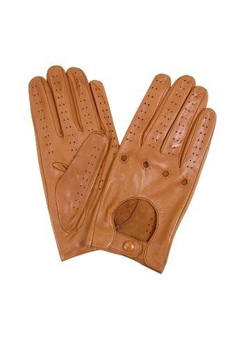 8d1eb0d6746395 Forzieri Herrenhandschuhe aus italienischem Leder in naturfarben. Forzieri  Gants homme en cuir italien marron