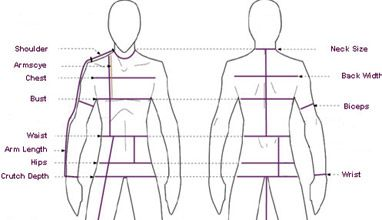 How to take your measurements for ordering a made-to-measure