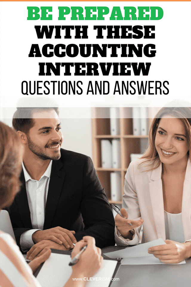 Be Prepared With These Accounting Interview Questions and ...