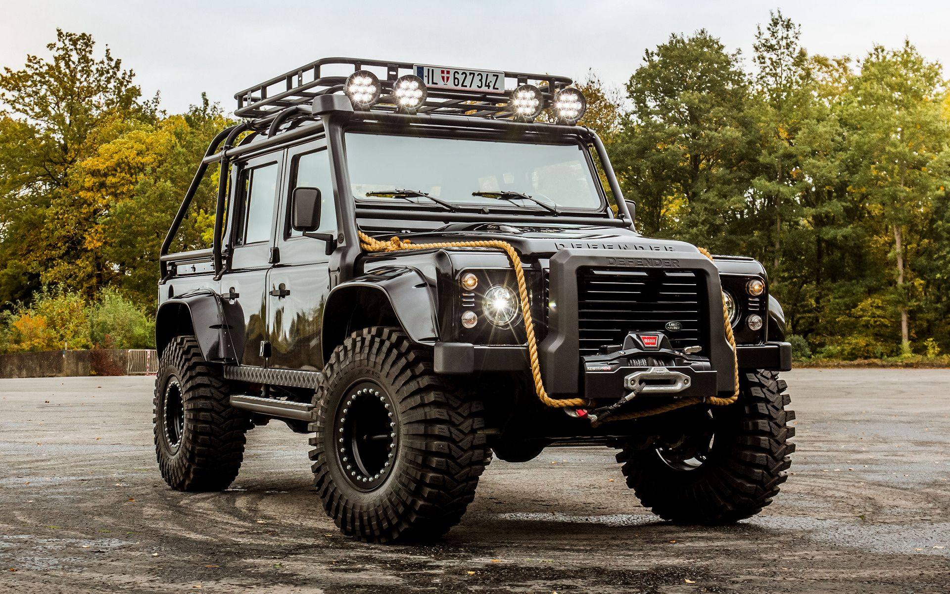 land rover defender 007 spectre car wallpaper. Black Bedroom Furniture Sets. Home Design Ideas