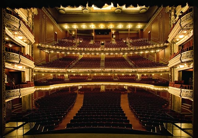 BofA Theatre in Chicago, what a gorgeous theatre Inspiration Board
