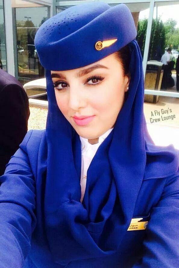 Saudi Arabian airlines · Flight AttendantHijab ...