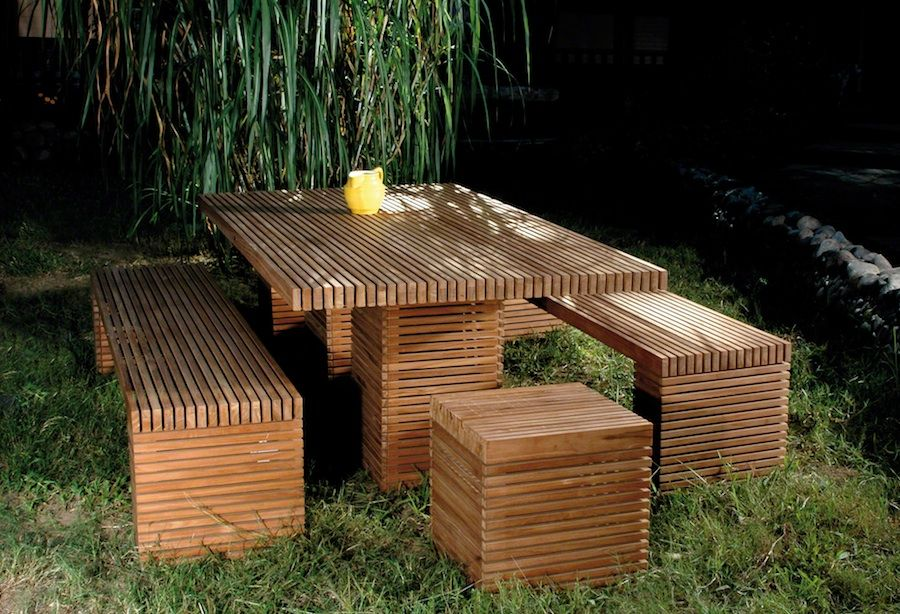 Wooden Garden Table And Chairs Part - 42: A Teak Outdoor Furniture Is The Most Top Quality Furnishings In The World.  Teak Outdoor Furniture Is Also Quite Simple To Maintain.