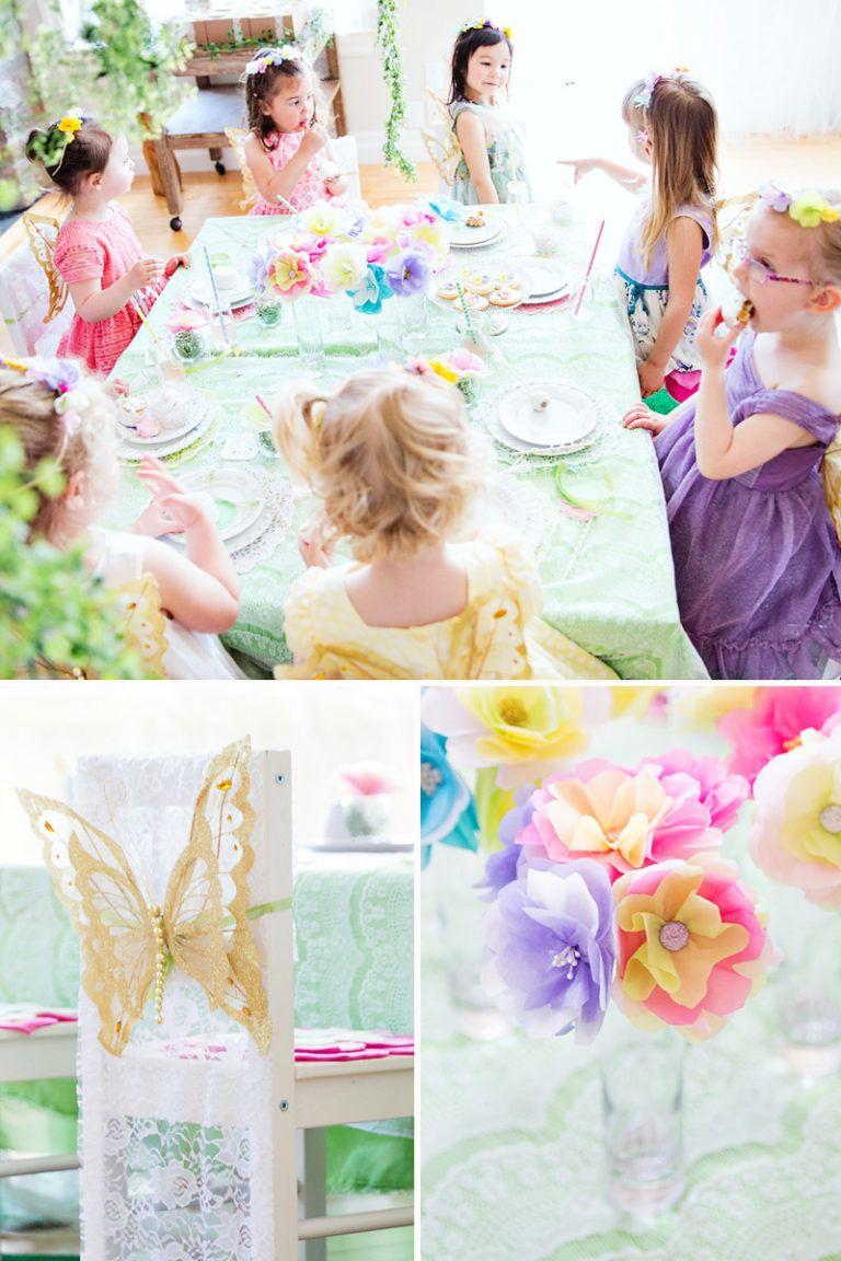 Magical & Elegant Butterfly Garden Tea Party Butterfly