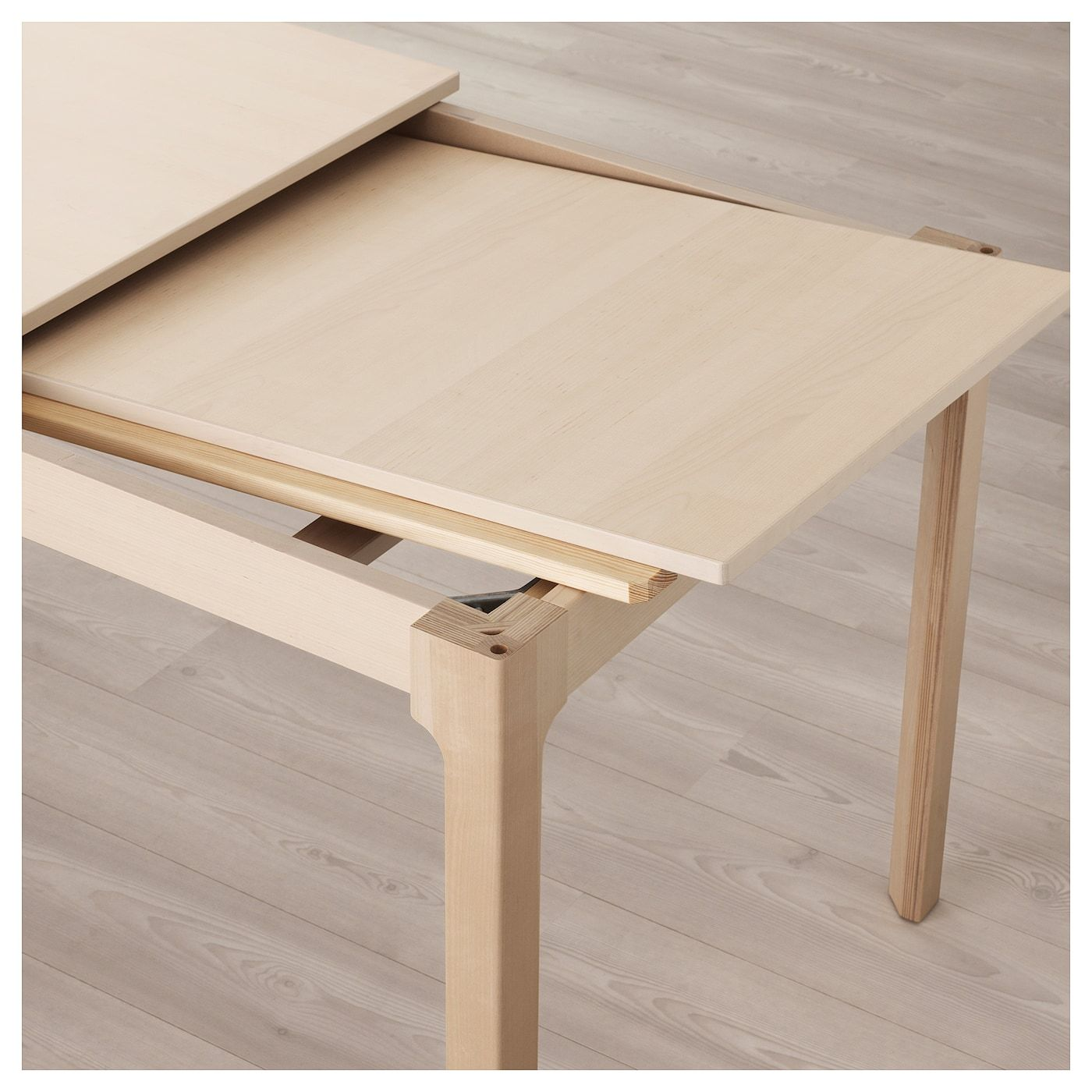 Ekedalen Table Extensible Bouleau 180 240x90 Cm Ikea Table Extensible Chaise Ikea Ikea