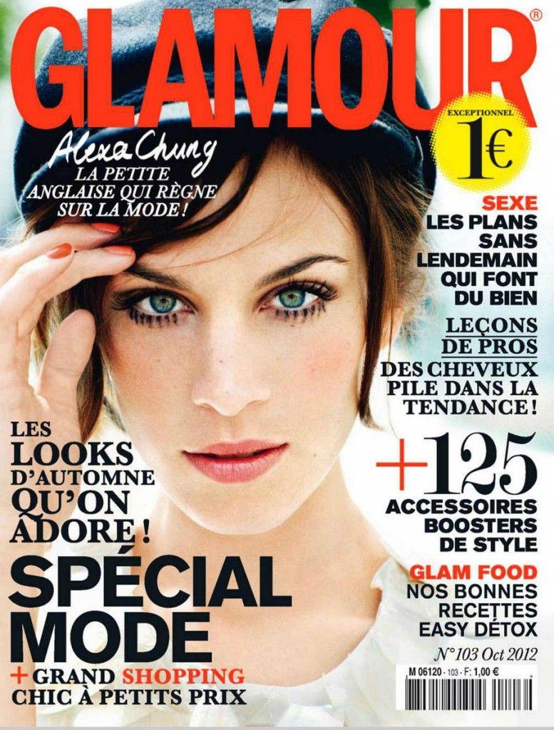 Alexa Chung - Glamour Francia | Covers
