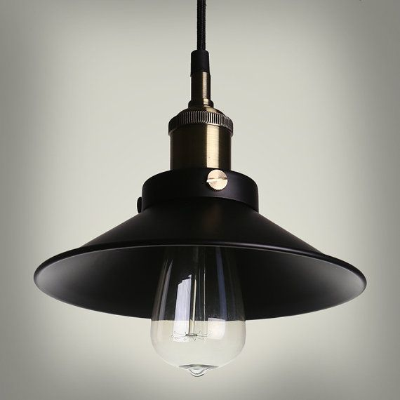 industrial steel ceiling lamp pendant lamp edison bulb vintage style industrial style. Black Bedroom Furniture Sets. Home Design Ideas