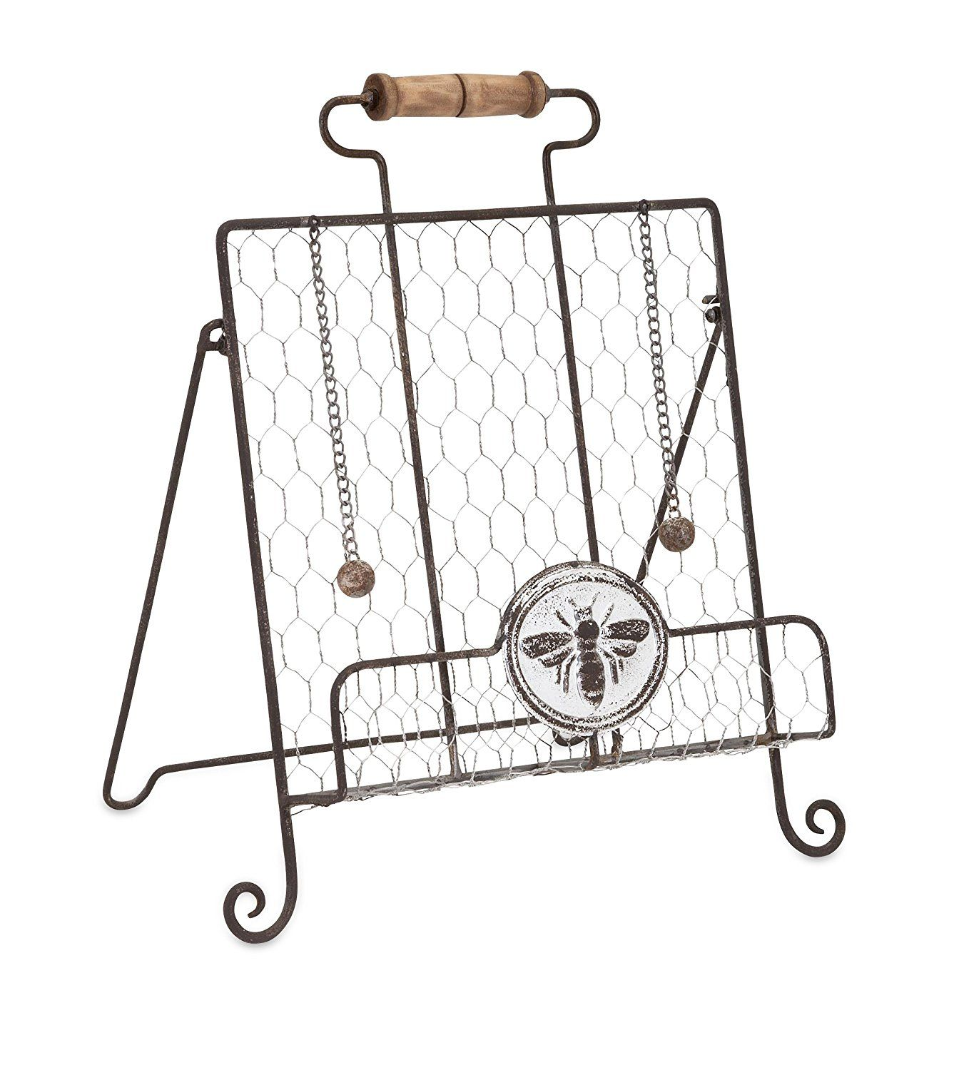 Amazon.com: Trisha Yearwood Home Collection 10451 Honey Bee Recipe Book Easel: Home & Kitchen