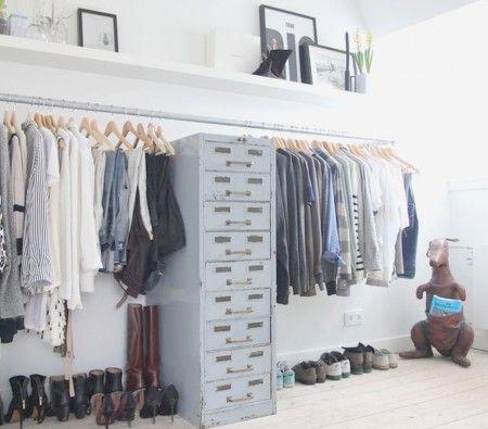 las 15 mejores ideas para un dormitorio con vestidor abierto - Vestidores Abiertos