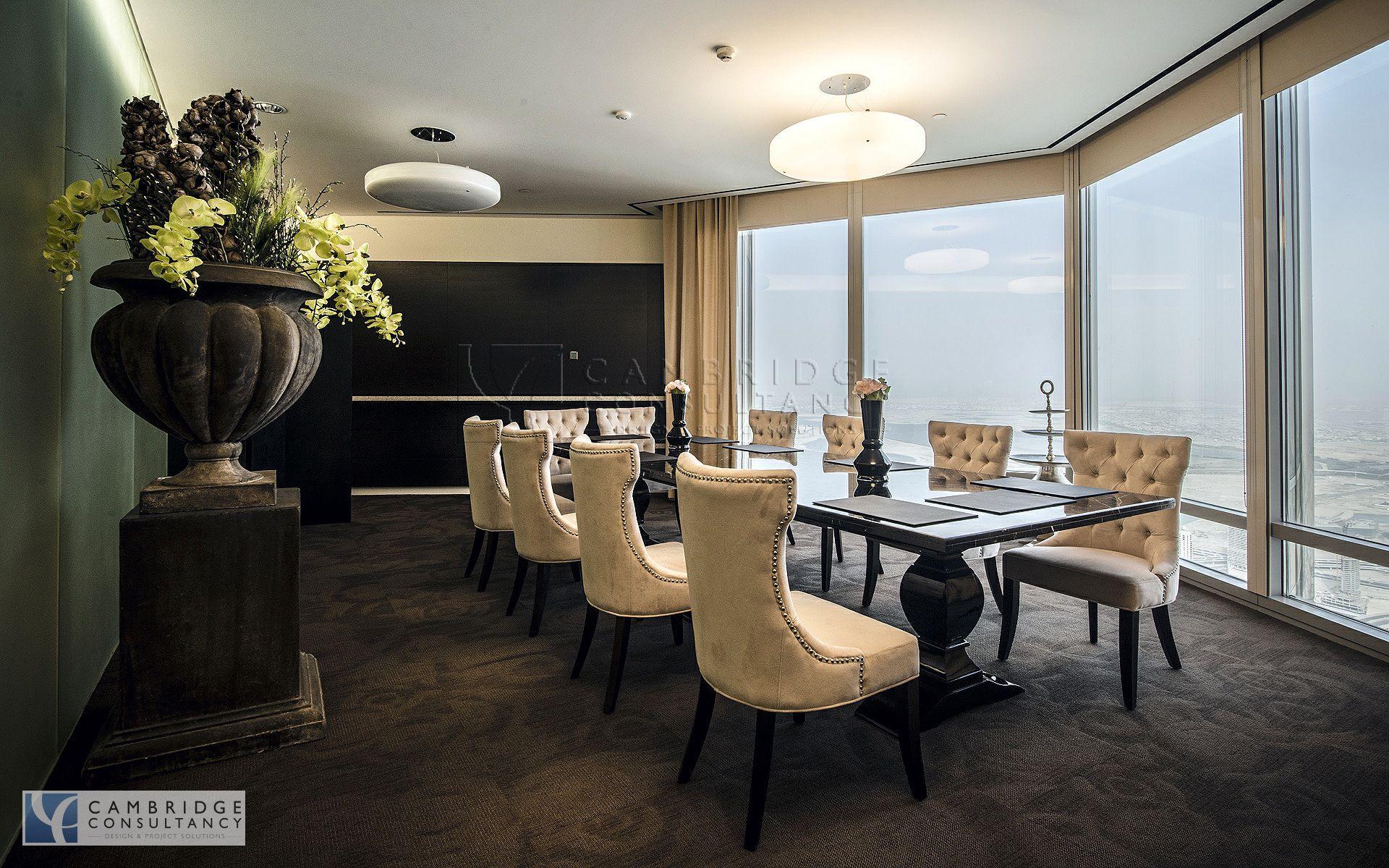 Honest RE office inside Burj Khalifa, full floor  Designed