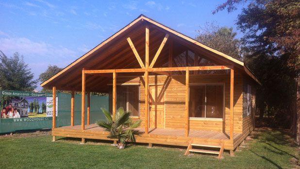 Wood house casas prefabricadas viviendas americanas for Casas americanas de madera