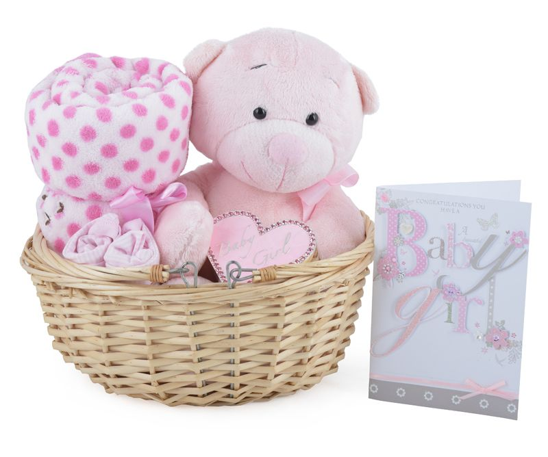 Gorgeous Baby Girl Gift Basket available online at http://www ...