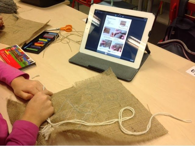 TinyTap is used in a primary school in FInland to make a variety of learning games!