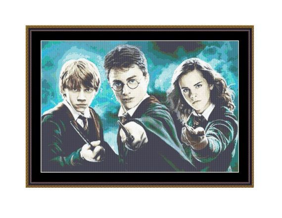 Cross stitch pattern Harry Potter, Counted Cross Stitch Pattern,Instant download PDF