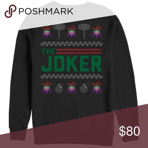 The Joker Ugly Christmas Sweater The Joker Ugly Christmas Sweater