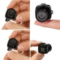 Wish | Mini HD Smallest Camera Camcorder Video Recorder DVR Spy Hidden Pinhole Web HOT