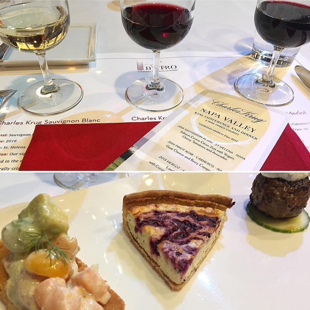 A Night Out With The Wines Of Napa S Charles Krug Winery The Corkscrew Concierge Wine Food Pairing Wine Pairing Dinner Wine Recipes