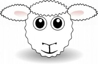 Sheep Face Template Google Search Sheep Face Funny Sheep