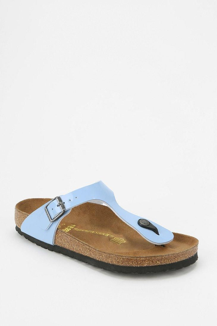 6a7ce42b6 Birkenstock Gizeh Patent Thong Sandal  urbanoutfitters