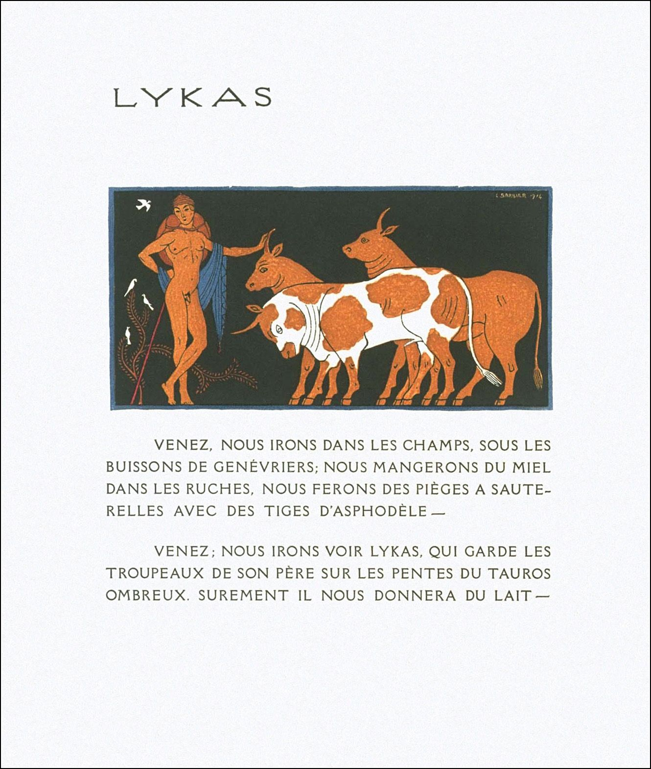 Les Chansons De Bilitis Ill George Barbier Book Graphics Book Illustration Ink Blot Graphic Illustration