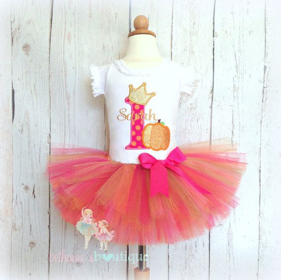 Hey, I found this really awesome Etsy listing at https://www.etsy.com/listing/238424963/birthday-princess-pumpkin-tutu-outfit