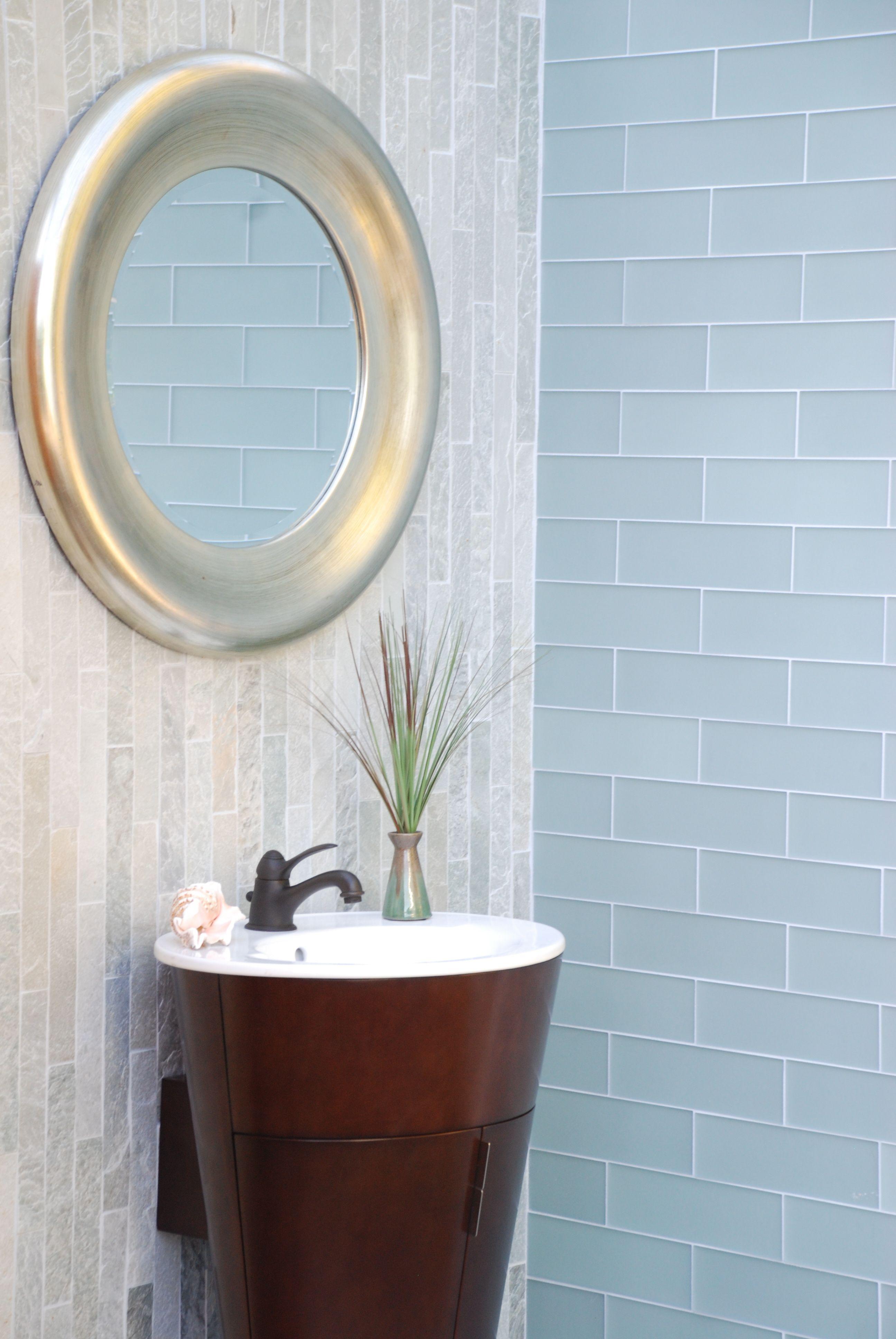 Sleek and bright bathroom cladding option with Strip Cladding ...