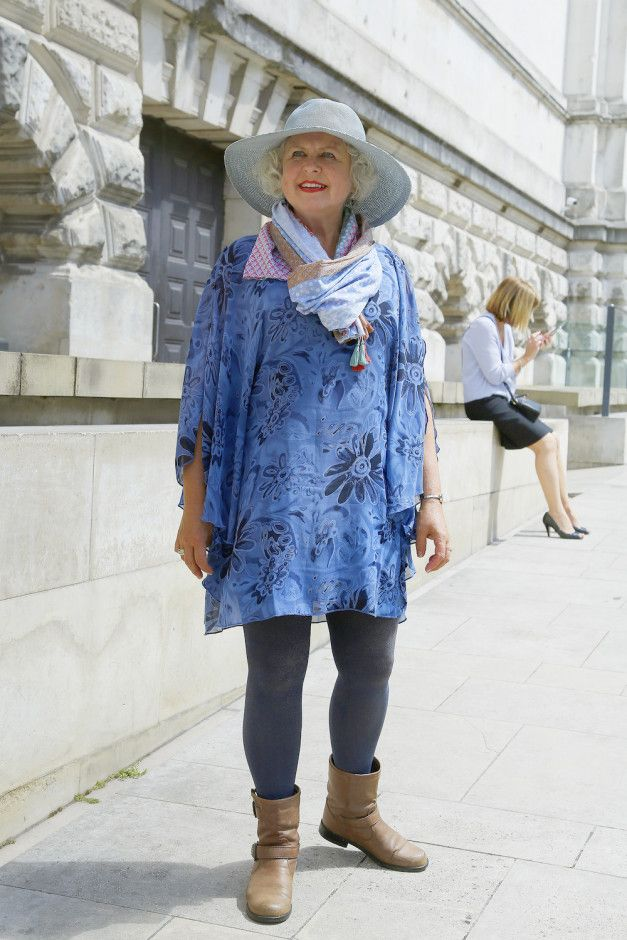 Another selection of stylish older women photographed for our street ...