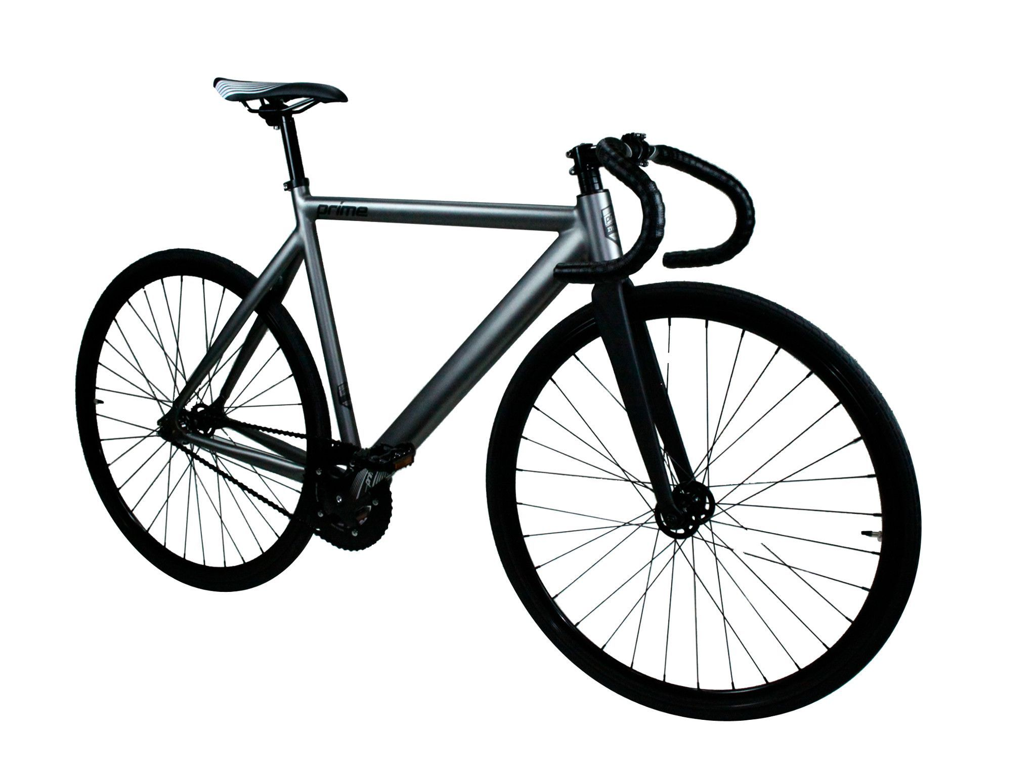 Zycle fix prime alloy fixed gear fixie bike gunmetal grey kookabike