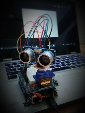 Ultrasonic Mapmaker Using Arduino and MatLab   Arduino