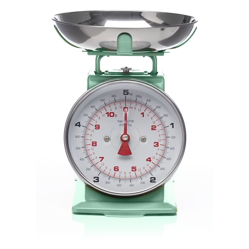 Wilko Colourplay Mechanical Scales Mint Accesorios De Cocina